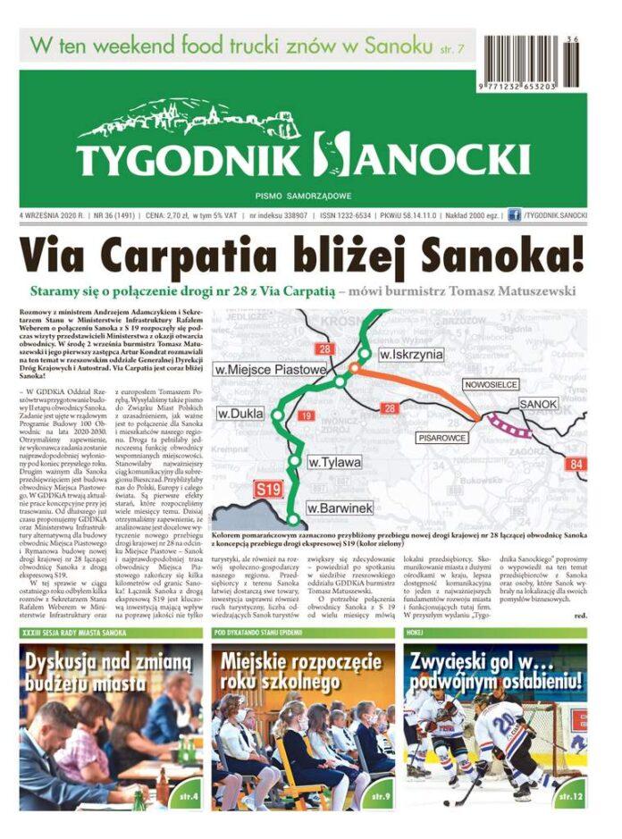 Staramy się o połączenie drogi nr 28 z Via Carpatią - czyli co w najnowszym Tygodniku