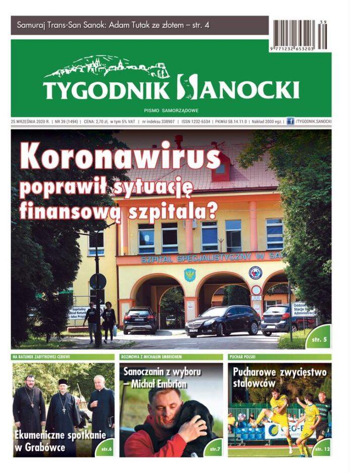 Koronawirus poprawił sytuację finansową szpitala? Czyli co w najnowszym numerze Tygodnika