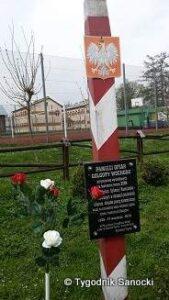 Słup graniczny i pamięć o IV rozbiorze Polski