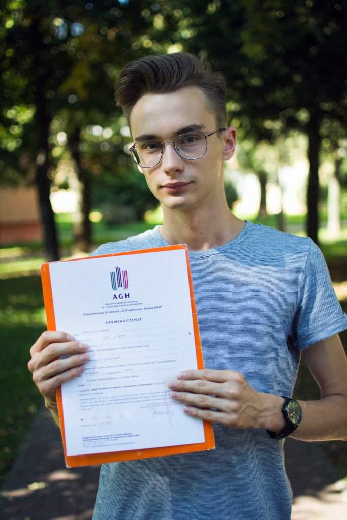 Dawid Poławski - marzę, by być nauczycielem akademickim