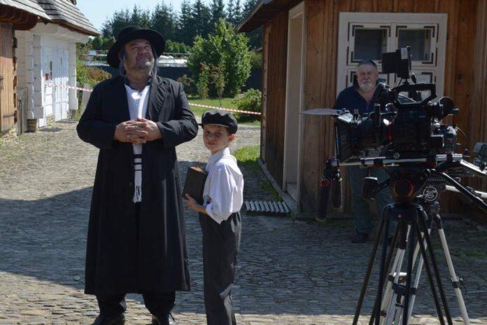 Skansen znów na kilka dni stał się planem filmowym. Z drugiej strony kamery