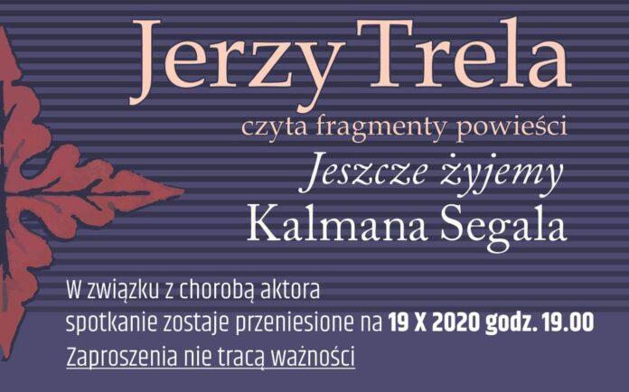Jerzy Trela czyta fragmenty powieści