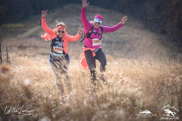 Jesienne bieganie w Bieszczadach