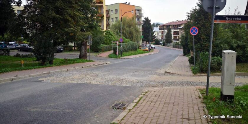 Wyrwa na ulicy zamkowej - interwencja