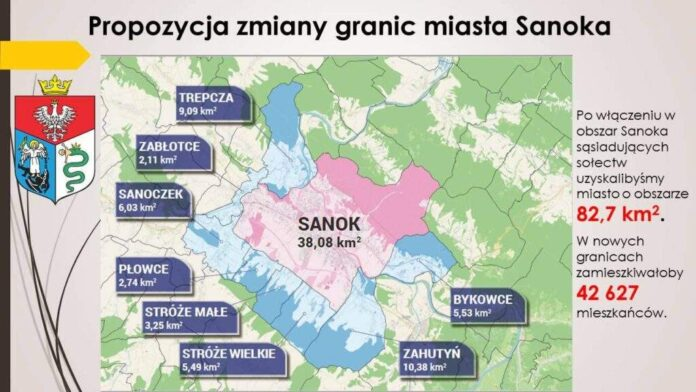 Poszerzenie granic Sanoka. Przed nami konsultacje społeczne