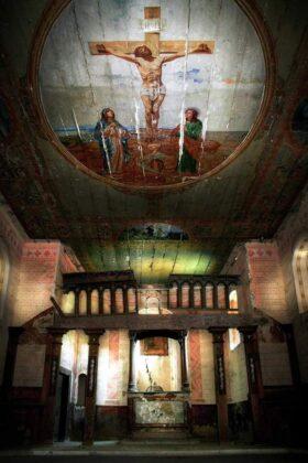 Unikatowa polichromia z cerkwi w Grabówce zabezpieczona