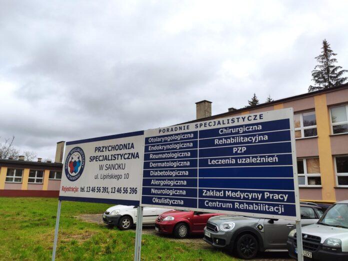 Poradnie specjalistyczne przeniesione na ul. Lipińskiego