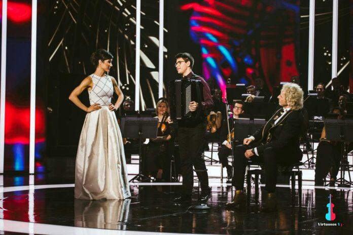 Akordeonista Dawid Siwiecki gwiazdą Międzynarodowego Talent Show