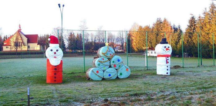 Zabawna zimowa wystawa w Czerteżu