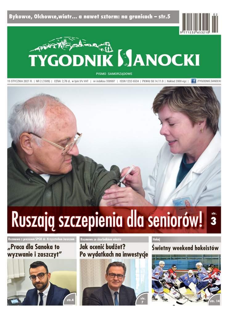 Ruszają szczepienia dla seniorów - czyli co w najnowszym Tygodniku