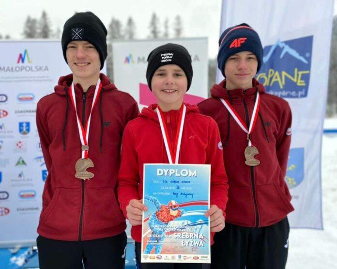 Brązowy medal drużyny panczenistów Górnika