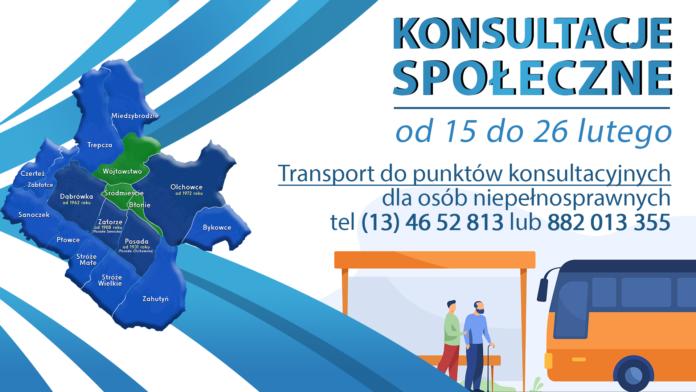 Transport dla osób niepełnosprawnych do punktów konsultacyjnych