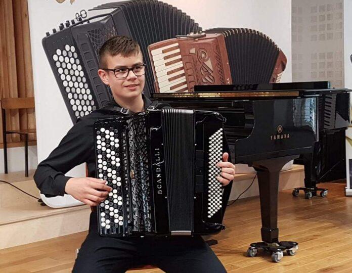 Sukces sanockich akordeonistów na Łotwie