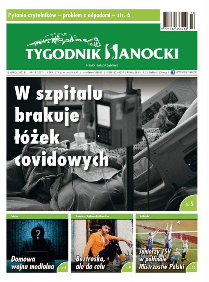 W szpitalu brakuje łóżek covidowych - czyli co nowego w Tygodniku Sanockim
