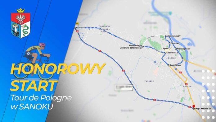 Start honorowy Tour de Pologne w Sanoku
