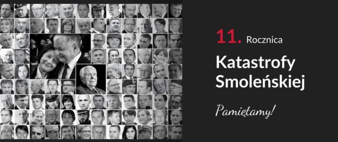 Jedenaście lat od katastrofy pod Smoleńskiem