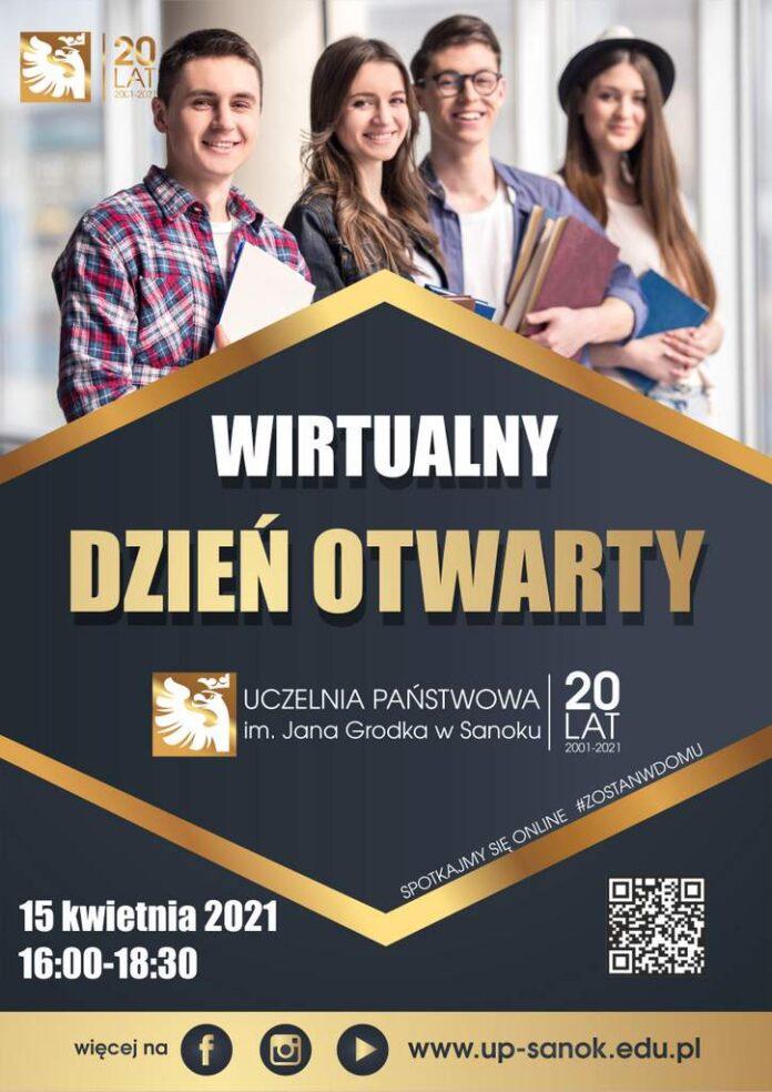 Wirtualny Dzień Otwarty w Uczelni Państwowej w Sanoku