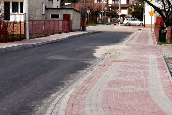 Kolorowe chodniki