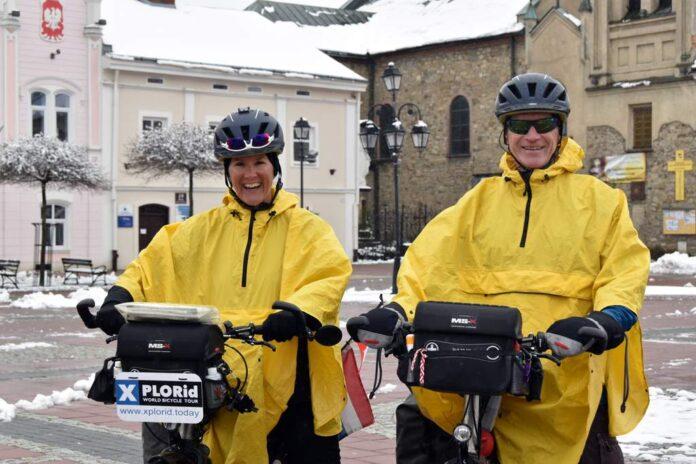 Przystanek Sanok na rowerowej wyprawie dookoła świata