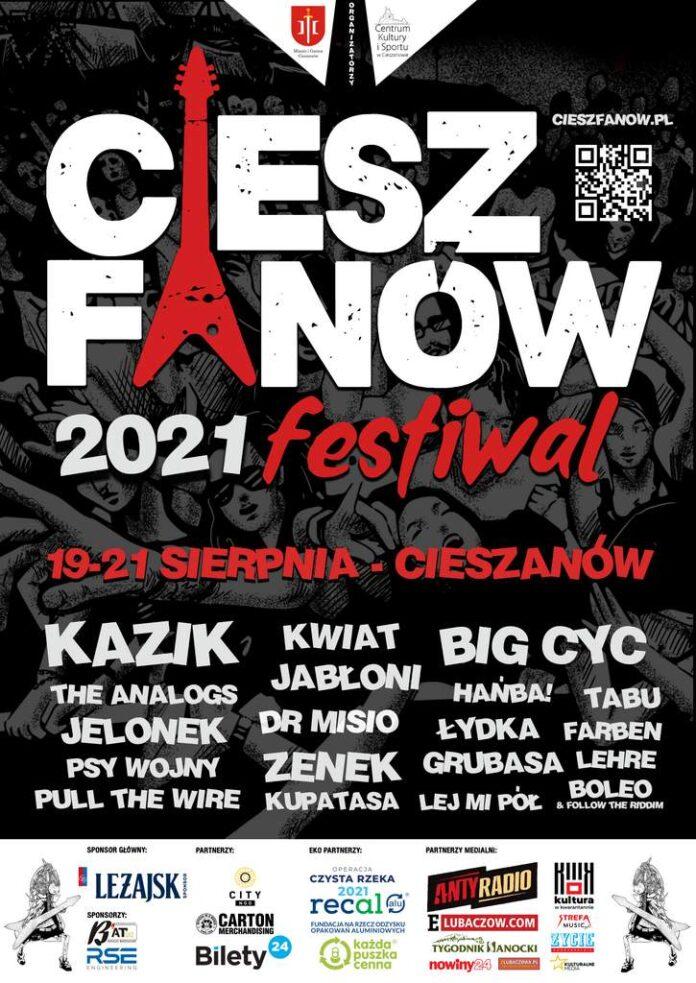 Znamy cały line-up CieszFanów Festiwal 2021