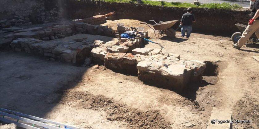 Nowe archeologiczne znaleziska w Sanoku