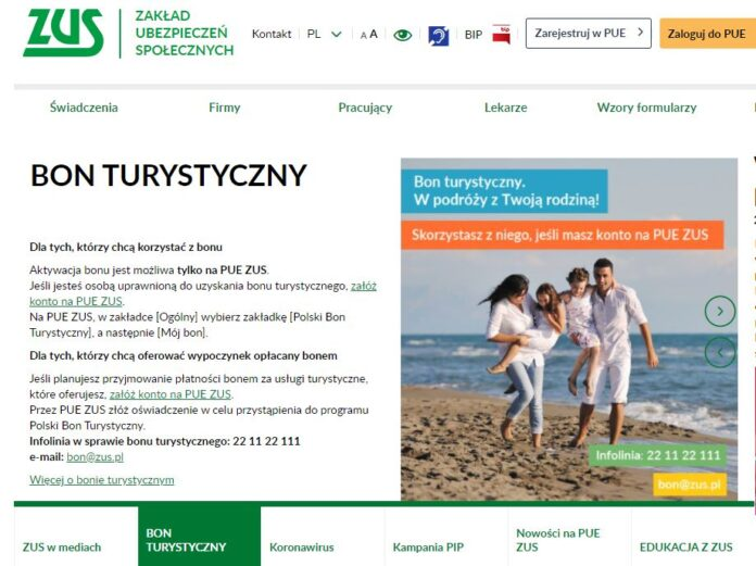 Polski Bon Turystyczny – dyżur telefoniczny