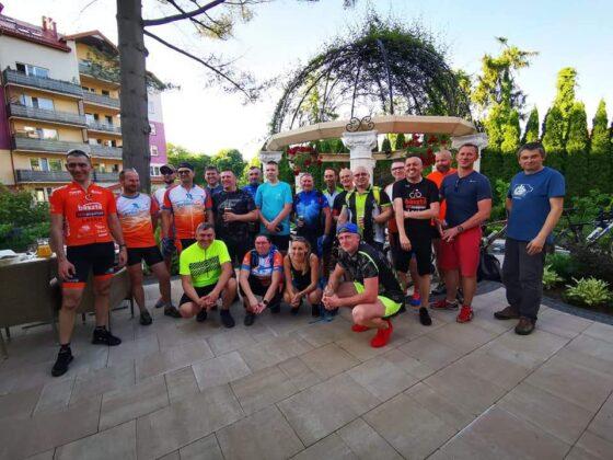 Fotorelacja z rowerowego wydarzenia Velo San Promo Tour 2021. Brawo Franek!