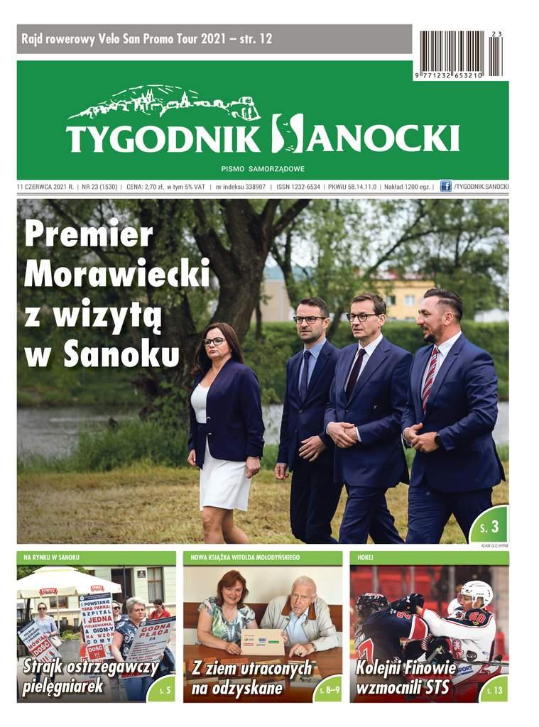 Premier Morawiecki z wizytą w Sanoku - czyli co w najnowszym Tygodniku