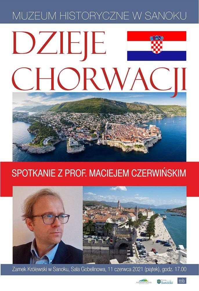 Dzieje Chorwacji- spotkanie z prof. Maciejem Czerwińskim