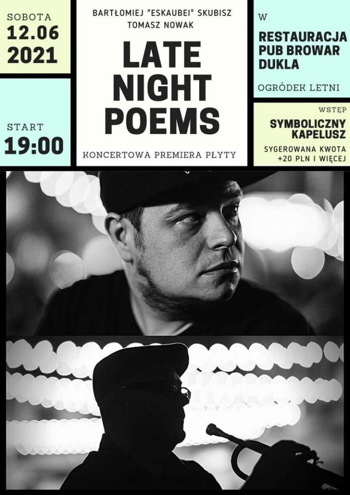 Koncert Late Night Poems w Dukli