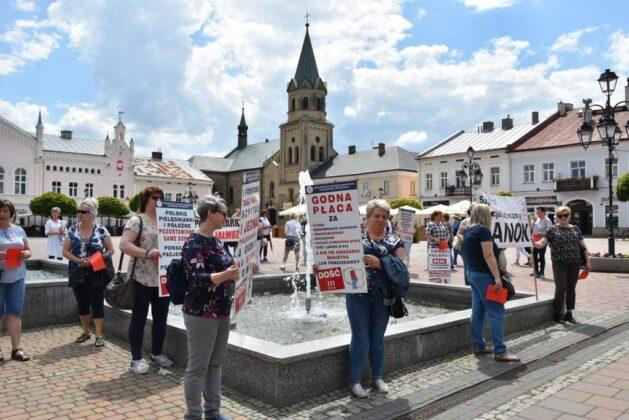 Strajk ostrzegawczy pielęgniarek w Sanoku