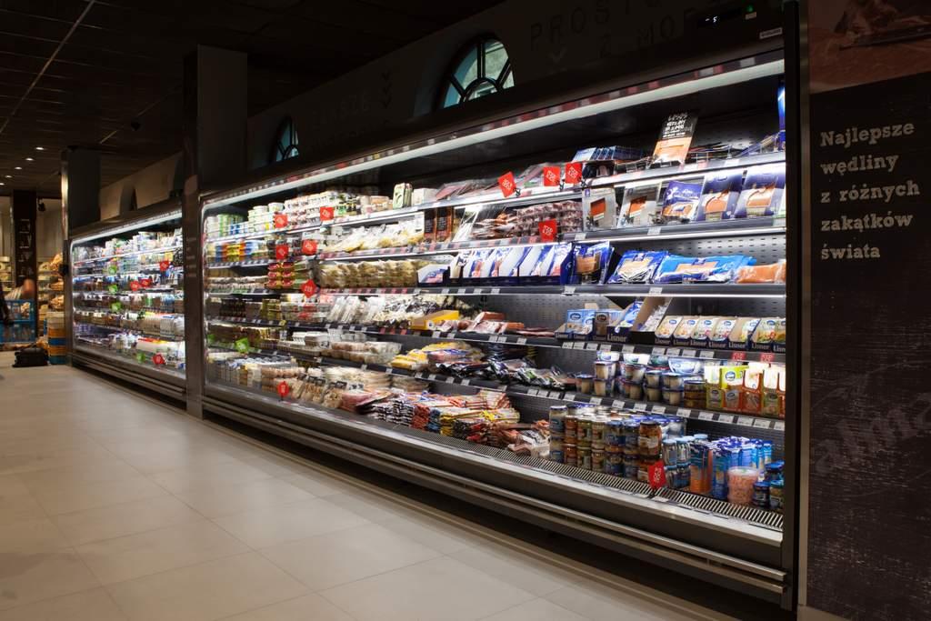 Sprawdzone rozwiązanie na eksponowanie dużej ilości żywności