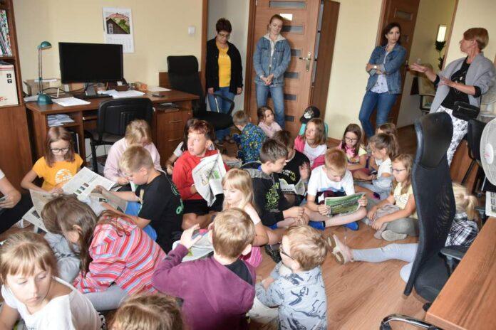 Dzieci z MDK z wizytą w redakcji