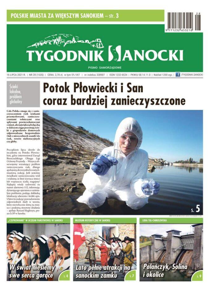 Potok Płowiecki i San coraz bardziej zanieczyszczone - co nowego w nowym Tygodniku Sanockim?
