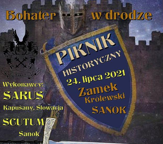 Już dziś piknik historyczny na dziedzińcu Zamku Królewskiego w Sanoku!