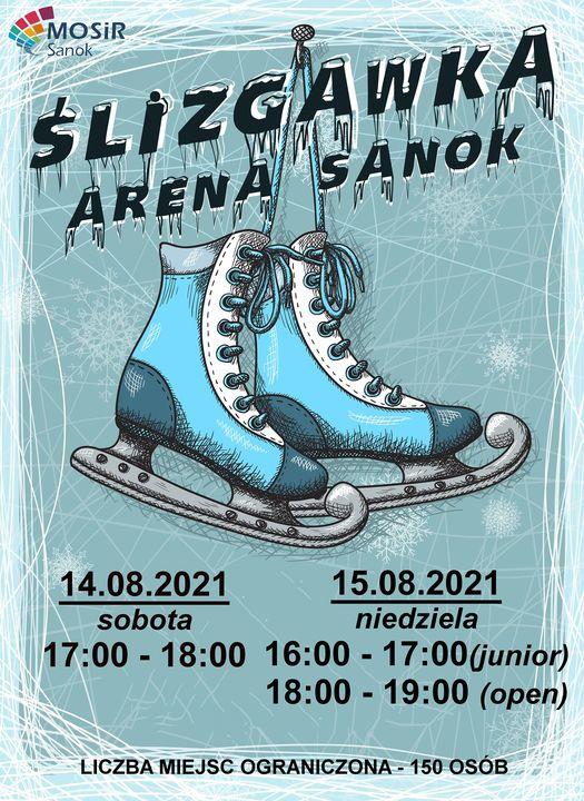ŚLIZGAWKA - ARENA SANOK 14-15.08.2021