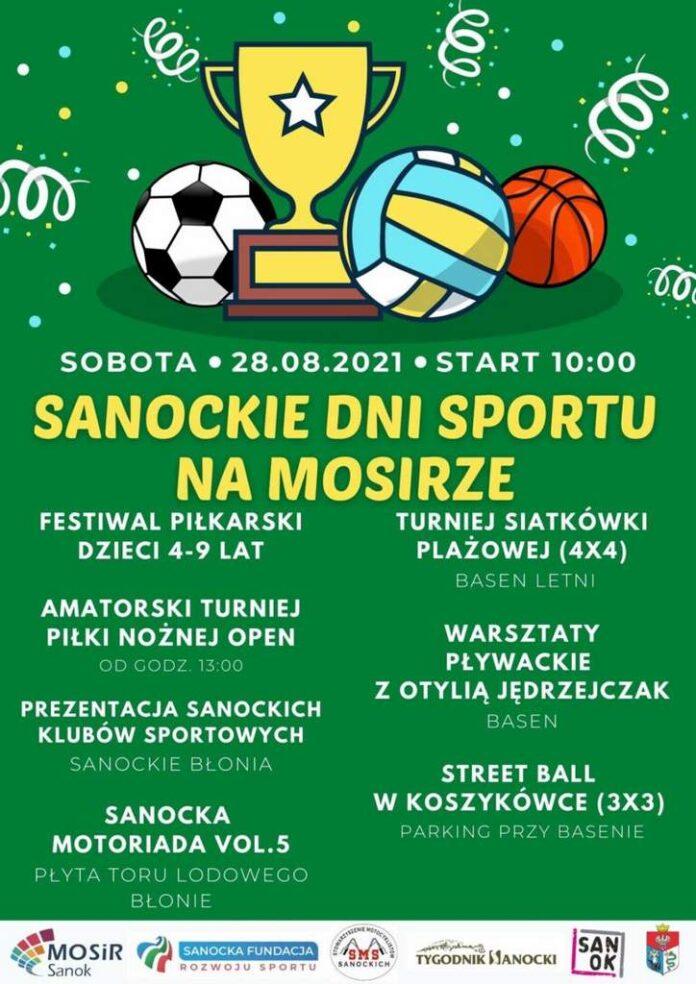 Sanockie Dni Sportu na MOSiRze