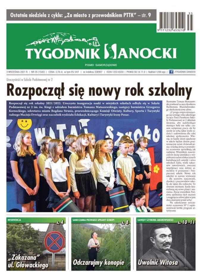 Pierwszy wrześniowy numer Tygodnika Sanockiego - rozpoczęcie nowego roku szkolnego