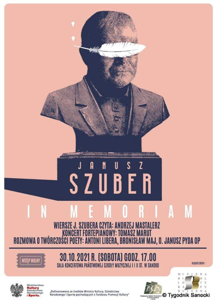 """Janusz Szuber - in memoriam"""
